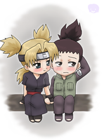 Naruto+Couples: ShikaTema by The-PirateQueen