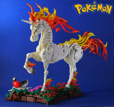 Pokemon: Rapidash by retinence