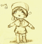 Chibi Italy Sketch - v.1 by SacredLugia