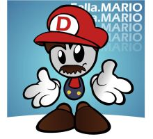 Its a me Dmario by razorface123