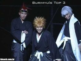 Burimyu's Top 3 by needlesjuubei