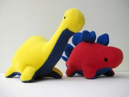 Primary Dinos by MowenDesigns