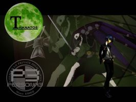 Thanatos Wallpaper Persona 3 by BioDio