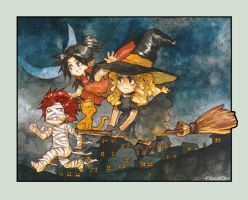 ..::GG: Halloween Flight::.. by Megan-Uosiu