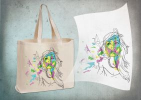 Pattern Portrait Bag by Lady-Nat