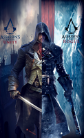 Assassin's Creed: Arno Vs Shay by NonStopPlayer96
