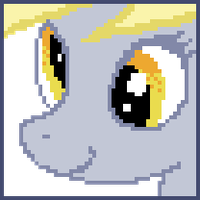Derpy Hooves pixel ava by DoctrineDesigns