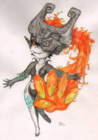 Midna by SilverRacoon