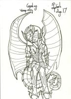 Jophiel War Pic: Uncoloured by xxxBrokenSoulxxx