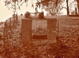Cemetery Gate by superclayartist