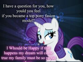 Ask Rarity~Q 10 by UnicornRarity