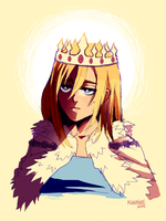 queen by Kunaike