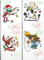 Holiday Marker Gifts Pt1 by happydoodle