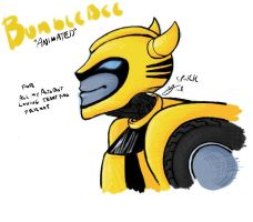 "Bumblebee ""Animated"" by sporkbotic"