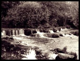 Litlle waterfalls by KissOnTheRain