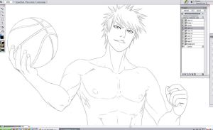 BLEACH Basketball series WIP by Washu-M