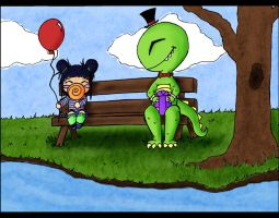 Odd Happenings at Dino Park by X-Dovefire-X