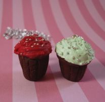 Scented Christmas Cupcakes by FatallyFeminine