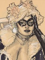 Black Cat Detail by TerryDodson