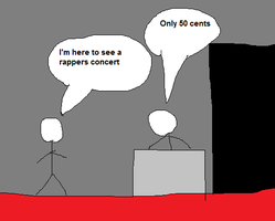 Going to a Rappers Concert by bogercs