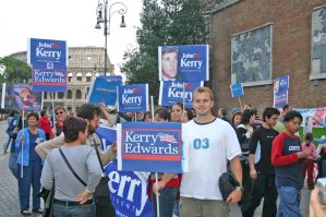 Protest for Kerry in Rome by LovinDigital