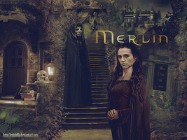 Merlin by Estriella