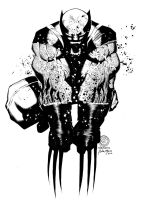 Wolverine by Bachalo - Inks by adr-ben