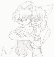 Shippo Inuyasha Yaoi Revisited by FallenAngelSefra
