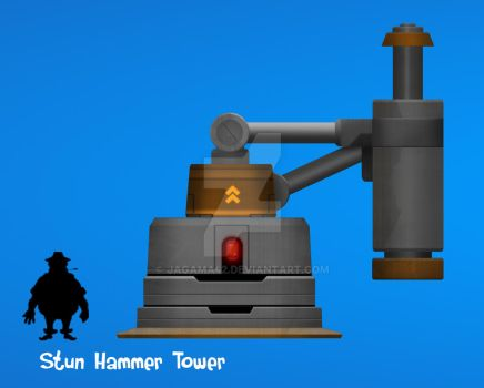 Stun Hammer Tower by jagama42