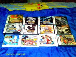 MY DS and 3DS GAMES 2013 by HAVOC777