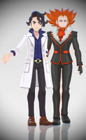 [MMD Download] Sycamore and Lysandre by Supurreme