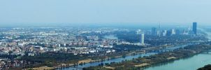 Vienna Panorama - August 2015 by MChristoph