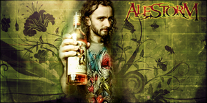 Alestorm - Christopher Bowes by Molekcito