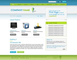 Wordpress Template by princepal