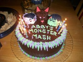 monster cake by BacterialCorruption