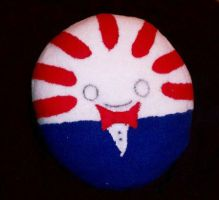 Peppermint Butler Pillow by Catzrock24