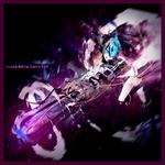 Black Rock Shooter Lp by NoMoreDesigns