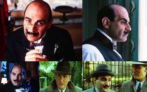 Montage Poirot and Hastings by FairyQuinn