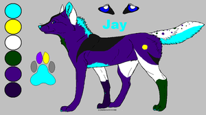 Jay. the spawn of lateral an i by Shardx3