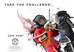 TAKE THE CHALLENGE poster 02 by RA-DO