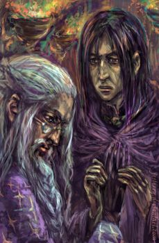 Thank you, Severus by jesterry