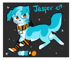 Jasper the Pup by Darkaiya