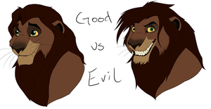 Maliki: Good vs. Evil by EirasFanart