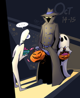 CDC - Oct 14-15: Trick or Treat by 7-Days-Luck