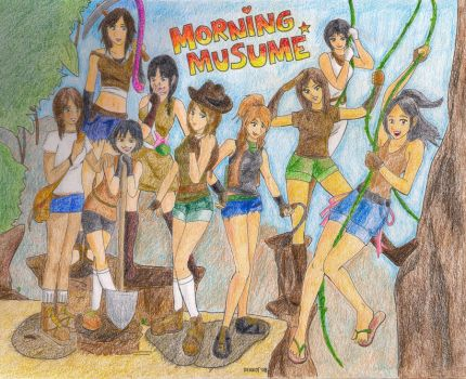 Morning Musume Adventure by Derrot