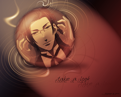 Claude - Wallpaper by lotras