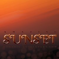 Amazing Sunset Layer Style by Romenig
