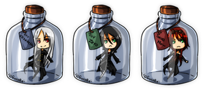 [Bottle] Commission pack 2 by GazeRei