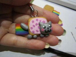 Nyan Cat Charm by aphid777