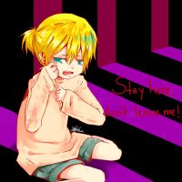 don't cry len :] by Ciel-Heartfilia